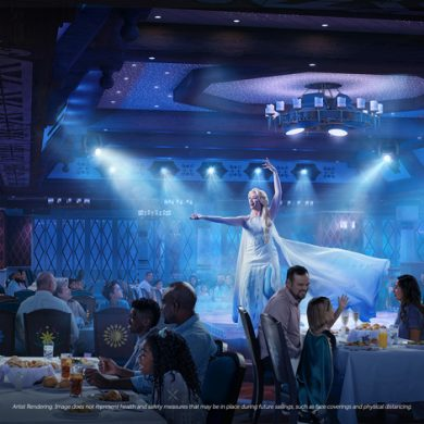 O Disney Wish terá restaurantes com temas de Frozen, Marvel e mais