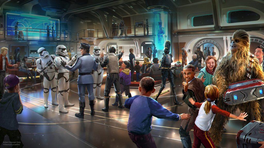 Mais sobre o Star Wars: Galactic Starcruiser Hotel