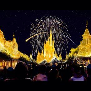 Enchantment é o novo show de fogos para celebrar os 50 anos da Disney