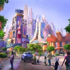 Fotos nova área do Zootopia na Disney de Xangai