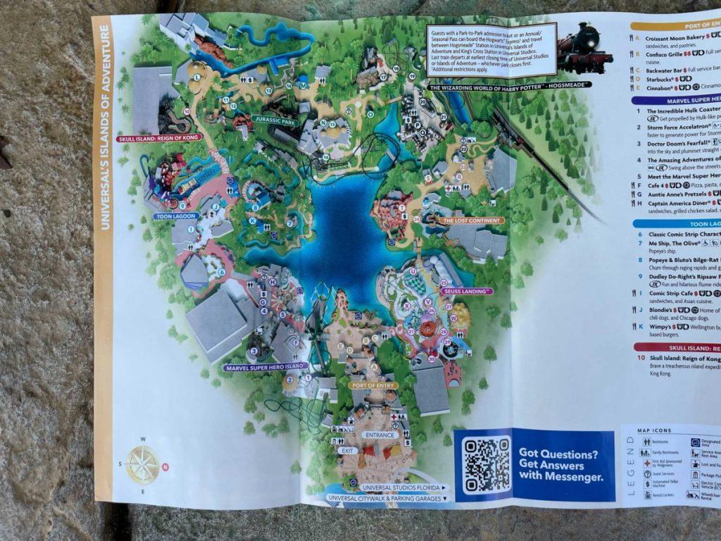 Universal Orlando Resort lança novo mapa com atração VelociCoaster
