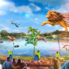 Disney KiteTails Animal Kingdom
